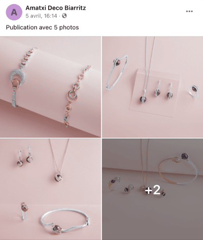 publication facebook 5 images